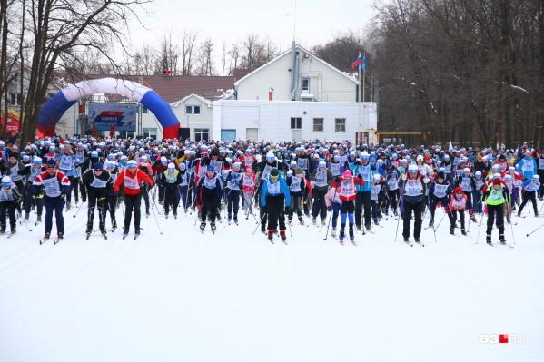 Зимой на базе проходят массовые лыжные старты, а теперь еще будут устраивать забеги на лыжероллерах