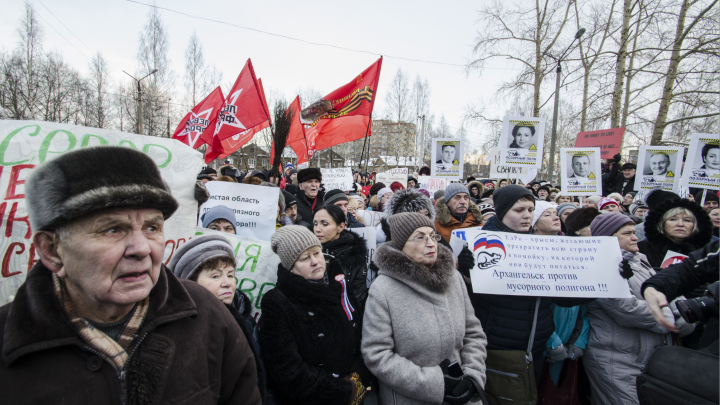 Архангельские активисты хотят провести в марте единый день протеста