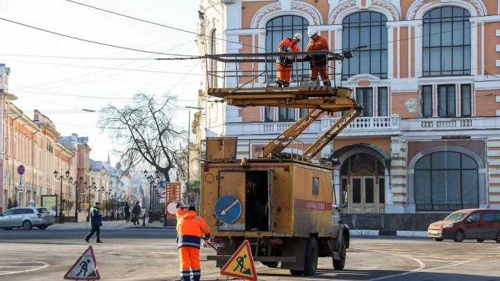 В центре Нижнего Новгорода ликвидируют троллейбусную линию