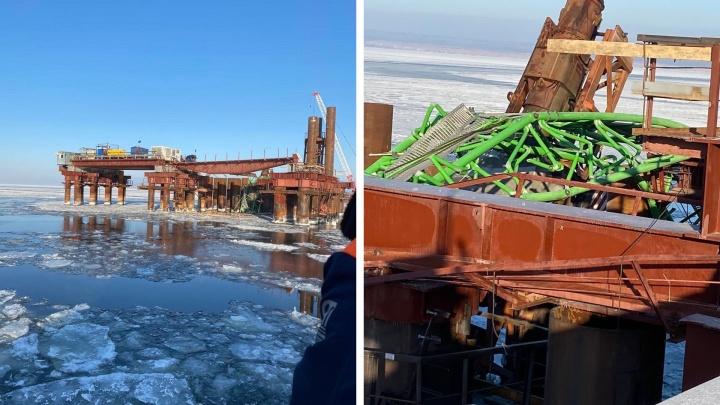 Семьям рабочих, погибших на стройке моста у Климовки, выплатят по 1миллиону рублей