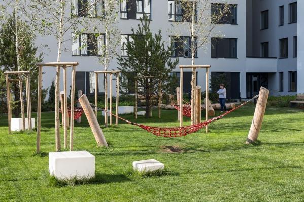 Квартал из урбан-вилл строится на улице Никитина