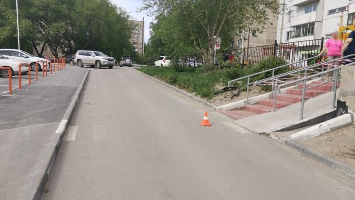 В Ленинском районе водитель «Мазды» сбил 10-летнего ребёнка
