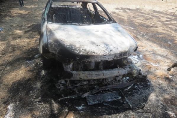 Иномарку сожгли, чтобы уничтожить спутниковую сигнализацию
