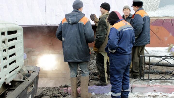 В Омске пять домов остались без отопления