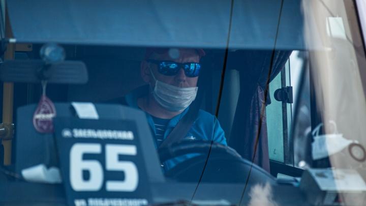Бесстрашные: в Новосибирске подсчитали, сколько пассажиров до сих пор отказываются надевать маску