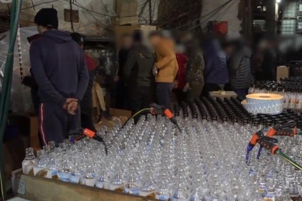 Производство преступник развернул в Переславле-Залесском