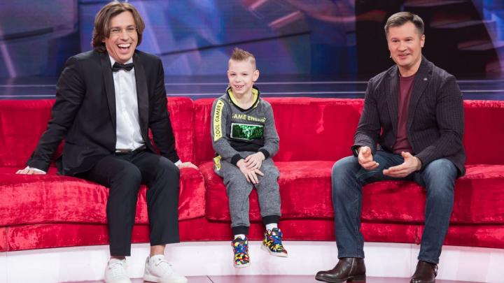 Восьмилетний уралец стал рекордсменом по отжиманиям на шоу Максима Галкина
