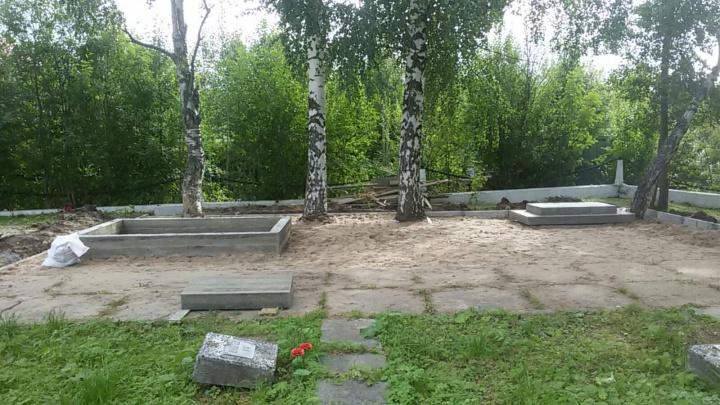 На Ильинском кладбище установят памятник северянам, погибшим в Финляндии