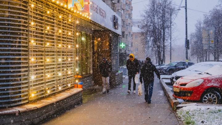 Две волны снегопадов. ГИБДД призывает водителей быть особо аккуратными на дорогах