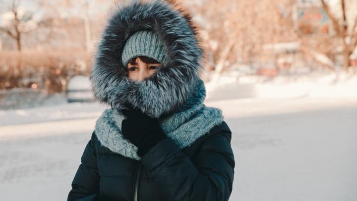 Похолодает до рекордных -37 °С. Синоптики предупреждают тюменцев об ухудшении погоды (да, снова)