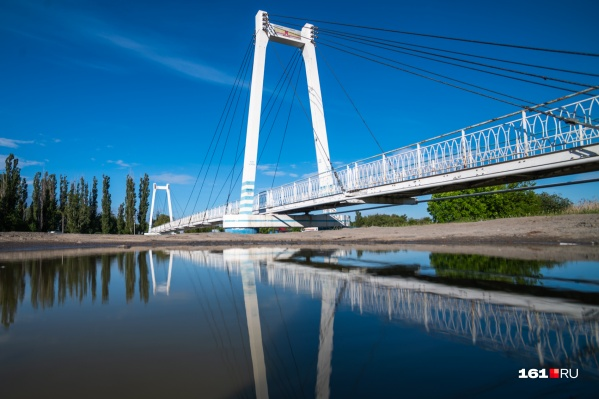 А вы знали, что в Азове есть свой «бруклинский» мост?