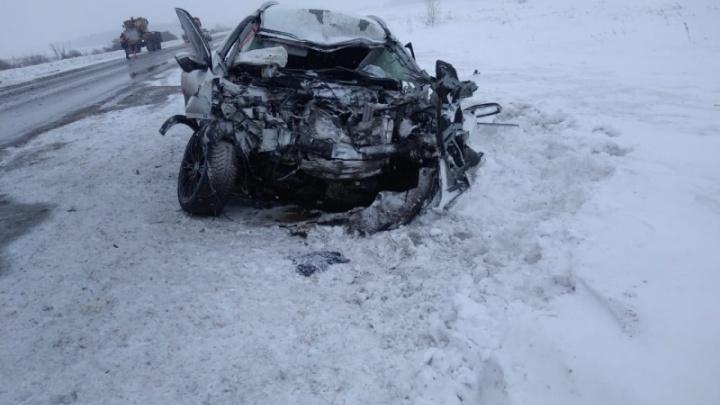 Вылетел на встречку: в Барабинском районе погиб водитель кроссовера