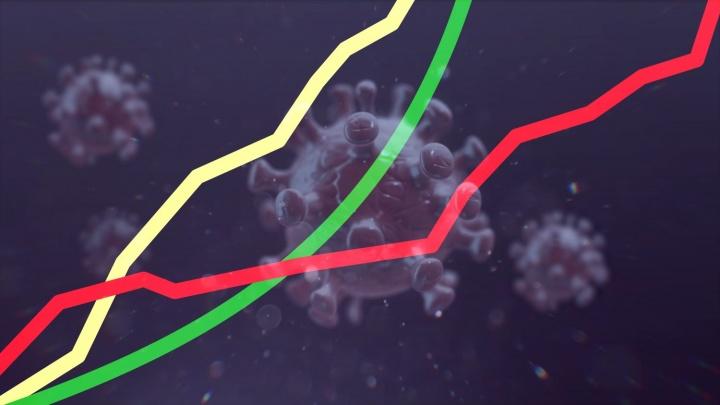 У России еще все впереди: динамика распространения коронавируса на трех графиках