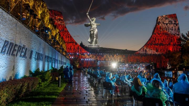Видела вся Россия: 20 лучших кадров с концерта Победы на Мамаевом кургане
