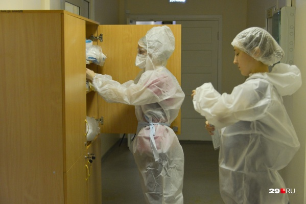 В Архангельске с COVID-пациентами работают 7 медучреждений