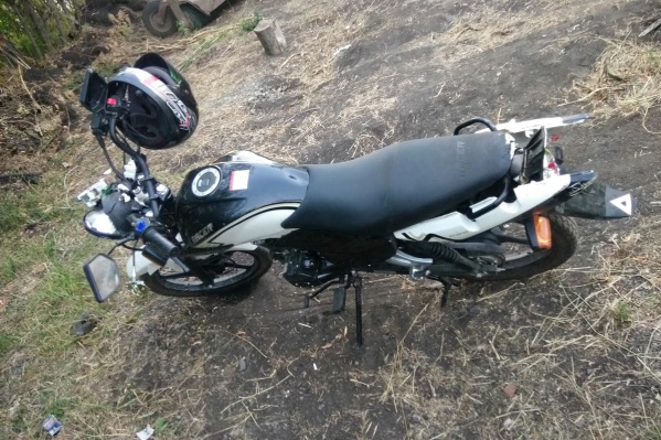 Мотоцикл изъяли