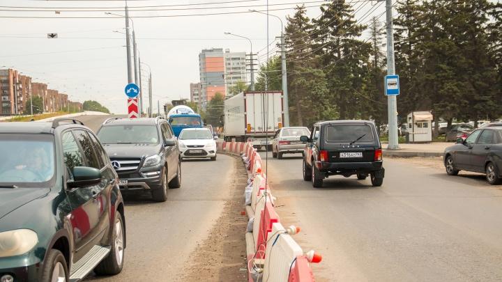 В Самаре транспорт пустят в объезд Заводского шоссе