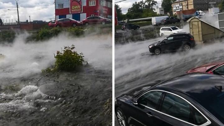 Прокуратура назвала виновника крупного коммунального потопа на Свердловском тракте