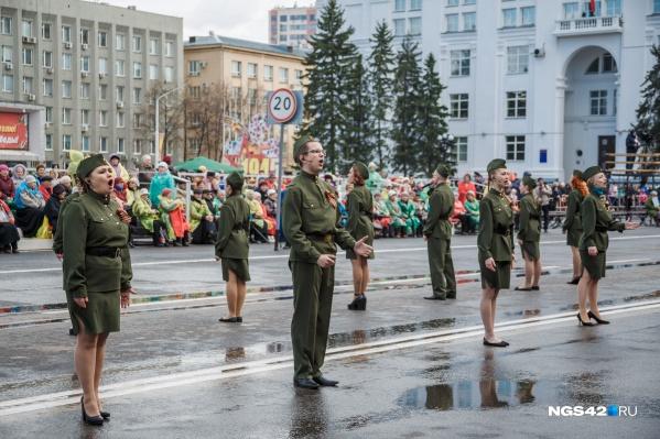 В Кемерово в торжественном шествии примут участие больше 450 человек