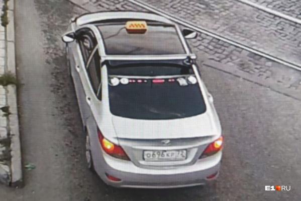 Чтобы вычислить таксиста-грабителя, полицейские смотрели записи с камер видеонаблюдения