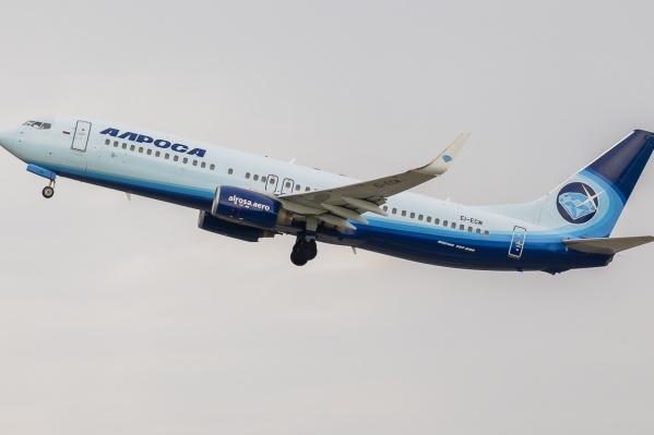 На российские курорты самолёты из Кузбасса начали летать с 14 июня