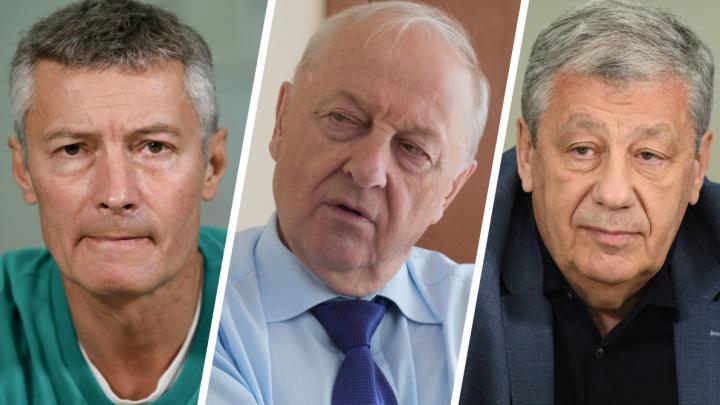 «Расхлебывать Екатеринбург это будет еще долго». Ройзман, Россель и Чернецкий — о смене мэра