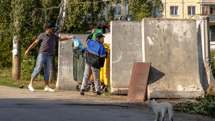 В Самаре мусорки устанавливали слишком близко к домам