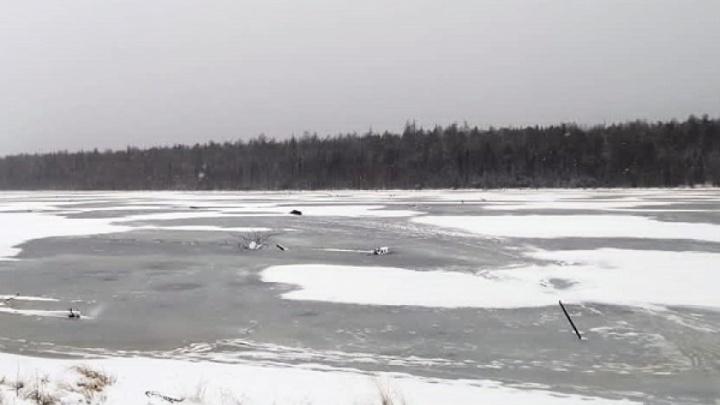 Пенсионер пошел кататься на коньках на озеро близ Катунино и пропал