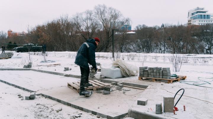 Благоустройством улицы Бударина, парка «Советский» и еще четырех скверов в Омске займутся тюменцы