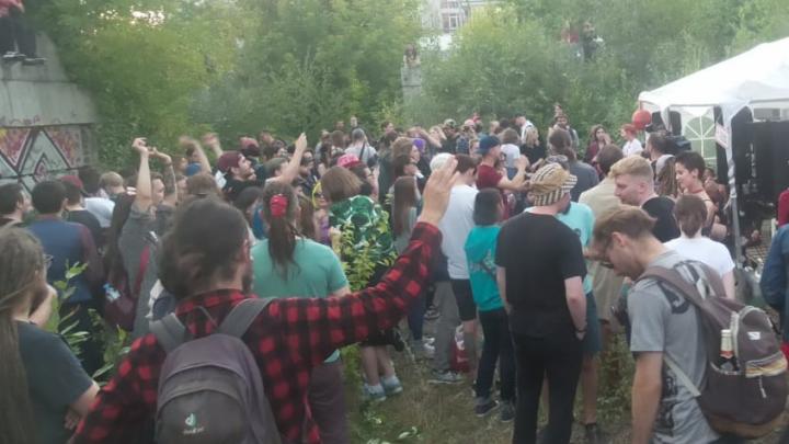 Полиция разогнала участников фестиваля «Маргинальная ночь» в Екатеринбурге