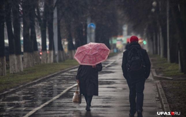 На Башкирию обрушатся дожди и грозы