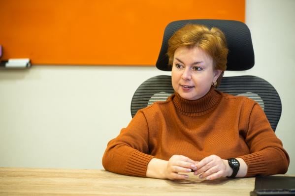 HR-директор макрорегионального филиала «Ростелеком-Урал» Яна Лентач