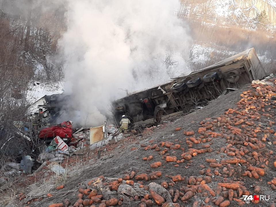 Эта смертельная авария произошла на аварийном участке в ноябре 2019 года