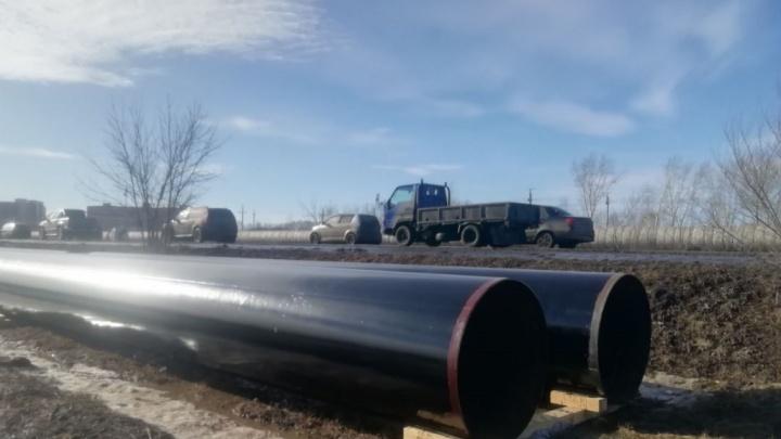 В Красноярске начался перенос теплосети для строительства виадука к Новым Солонцам