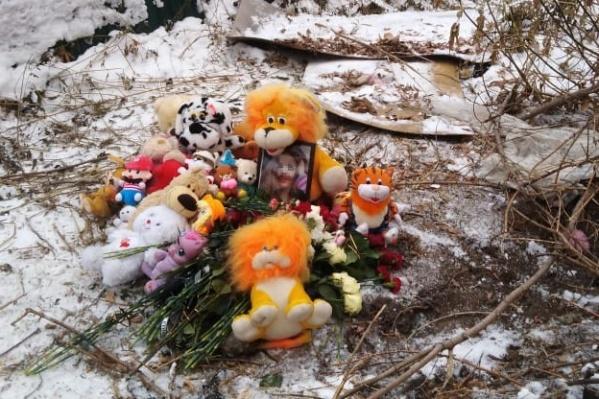Место, где 15 ноября нашли тело пропавшей школьницы