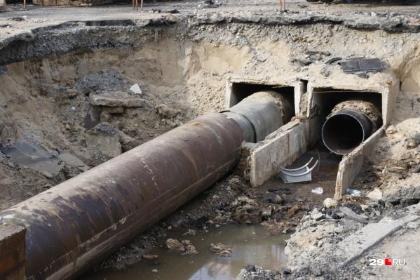 Горячую воду планировали вернуть 26 августа
