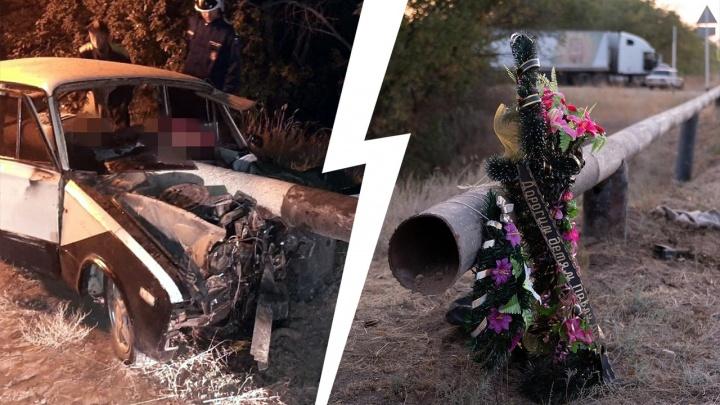 «Просто уснул за рулём ребенок»: под Волгоградом похоронили подростков, разбившихся в страшном ДТП