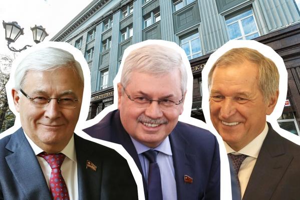 Парламентские старожилы по-своемупонялирекомендации Текслера