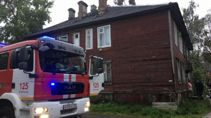Полицейские начали проверку по факту поджогов жилых домов в Архангельске