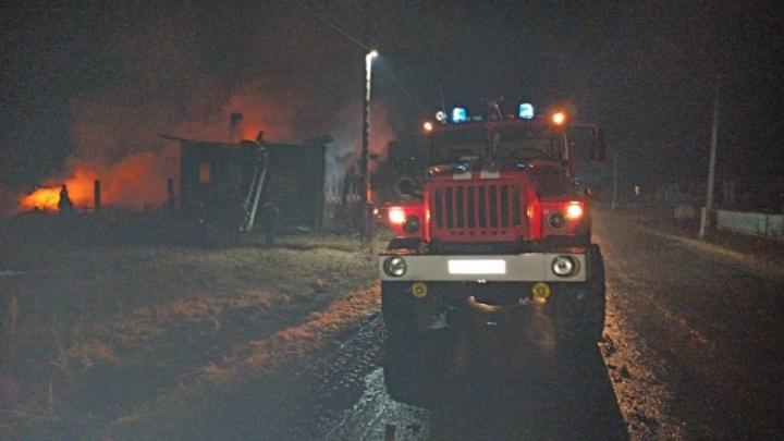 Прокуратура: сгоревший в Талицком районе дом был оборудован пожарными извещателями
