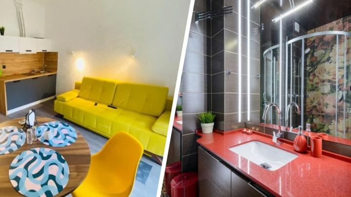 Стильные крошки: топ-5 квартир из Новосибирска площадью до 30квадратов с уютными интерьерами