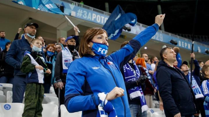 Волгоградский «Ротор» реабилитировался за провал в матче с «Краснодаром»: первая победа на домашнем стадионе