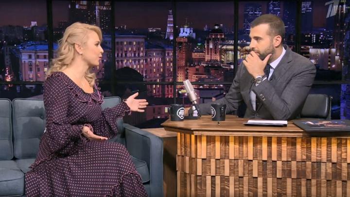 «Мы за тебя переживаем»: певица Пелагея рассказала Урганту о «травле СМИ» из-за её развода