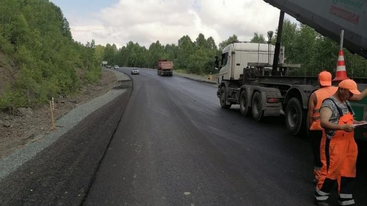 В Кузбассе до конца 2021 года отремонтируют единственную дорогу в Шерегеш