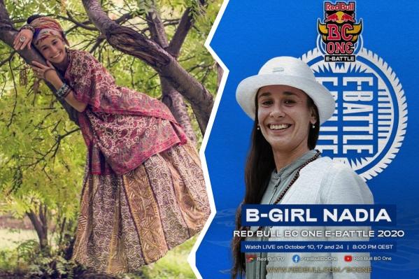 Несмотря на чемпионство,B-girlNadia в жизни оказалась скромной и легкой в общении