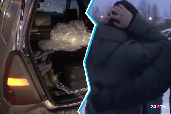 Томич развозил запретный груз в разные регионы России. Задержавшим его полицейским сообщил, что не знает даже имени своего работодателя