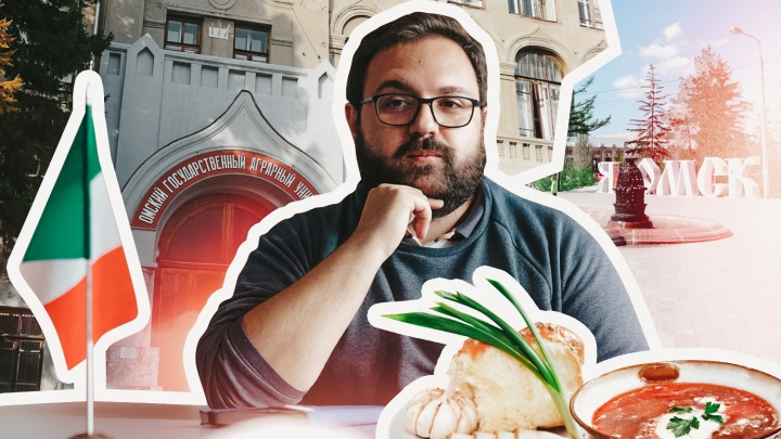 Променял лардо на сало: итальянец приехал в Омск, чтобы преподавать в вузе