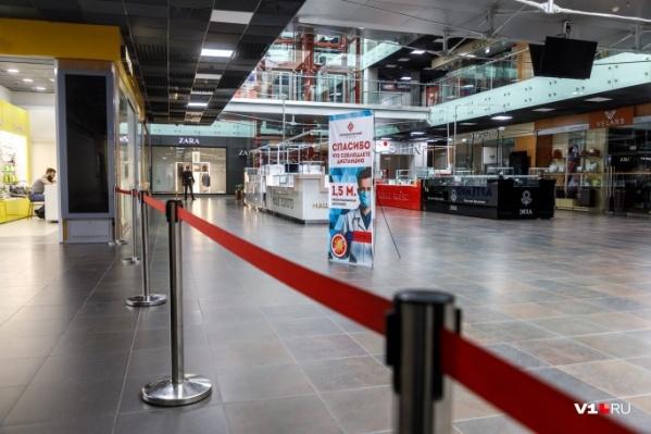 Уже два месяца торговые центры работают в ограниченном формате