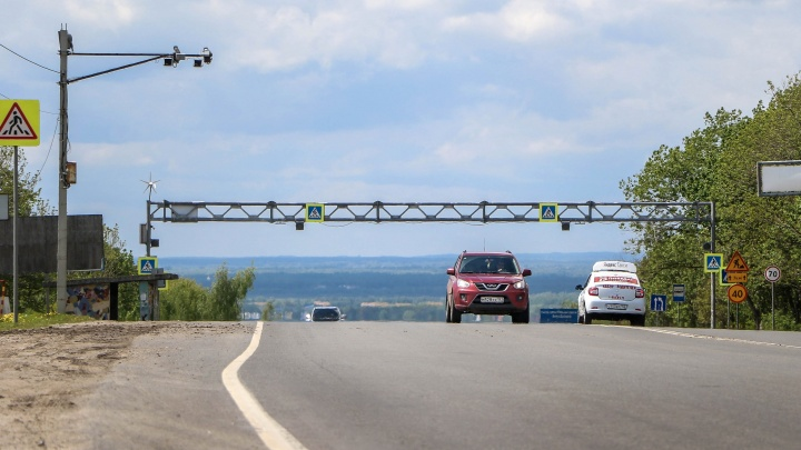 Разворот на М-7 у поста ДПС в Кстовском районе уберут в июле