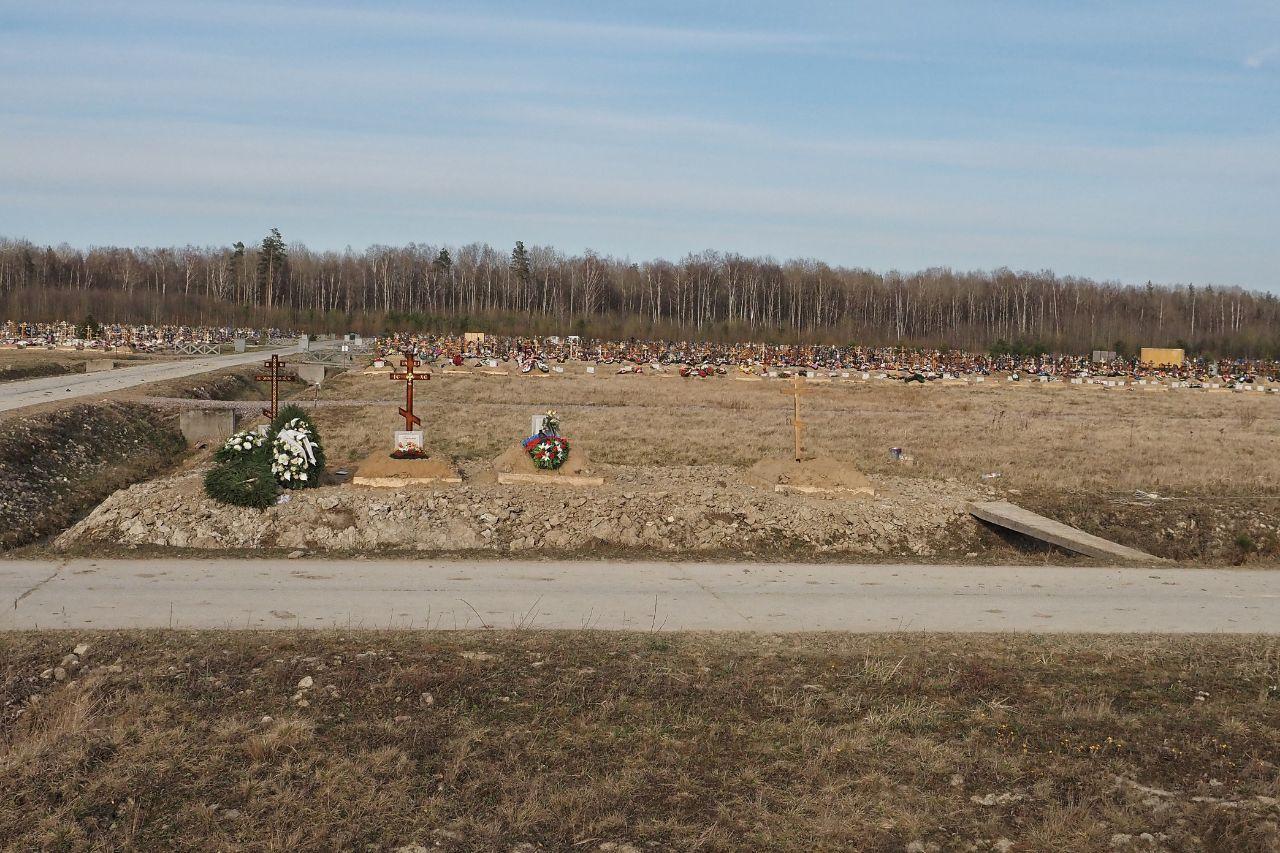 Новое кладбище в Колпино